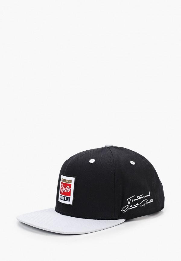 женская кепка trailhead, черная
