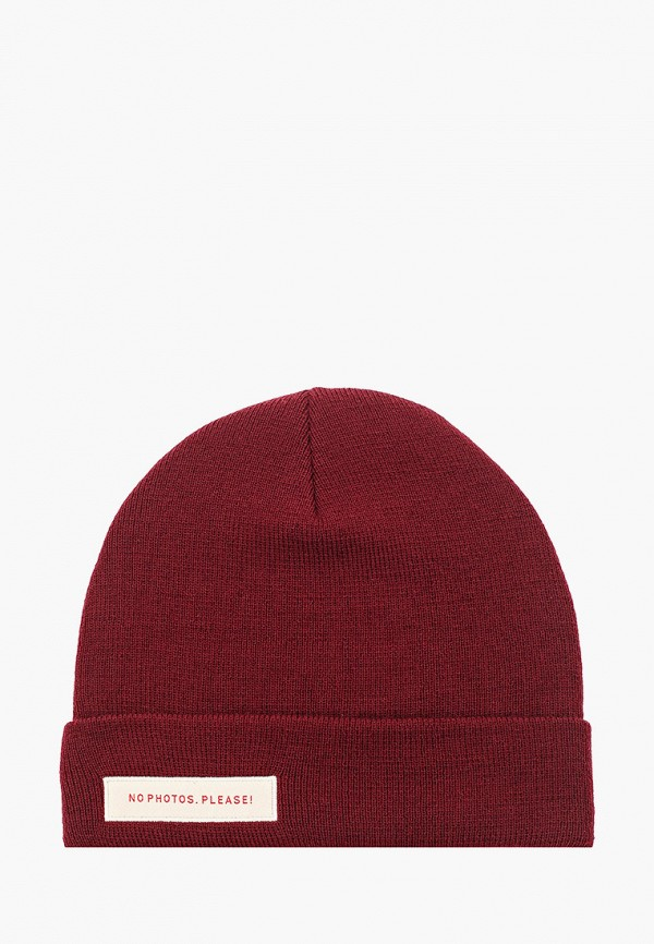 женская шапка trailhead, бордовая