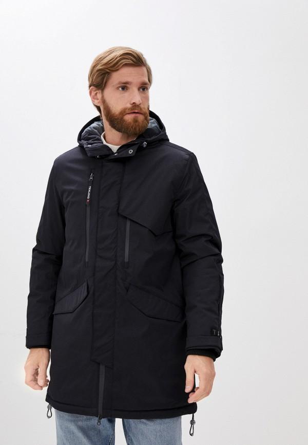 мужская куртка trailhead, черная