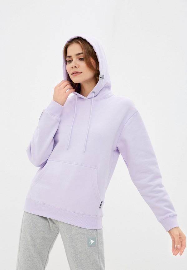 женские худи trailhead, фиолетовые