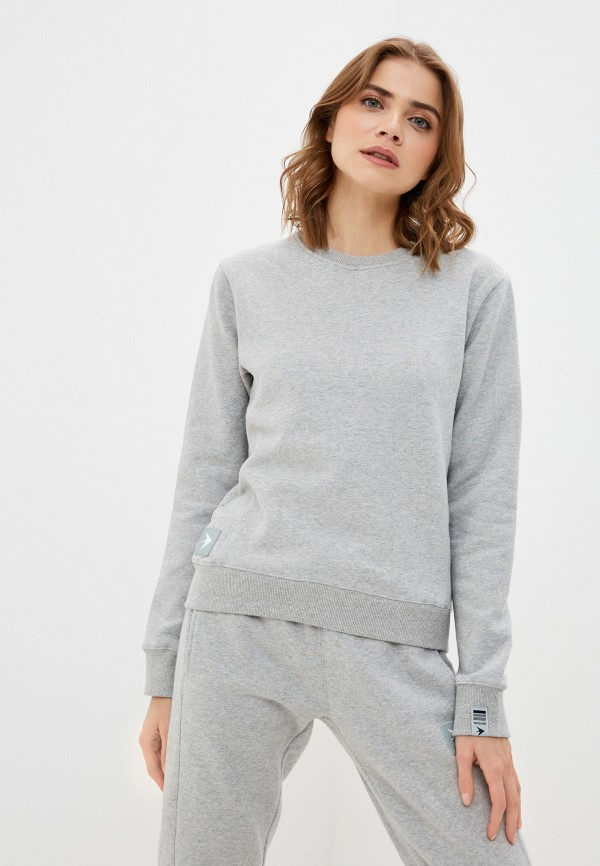женский свитшот trailhead, серый