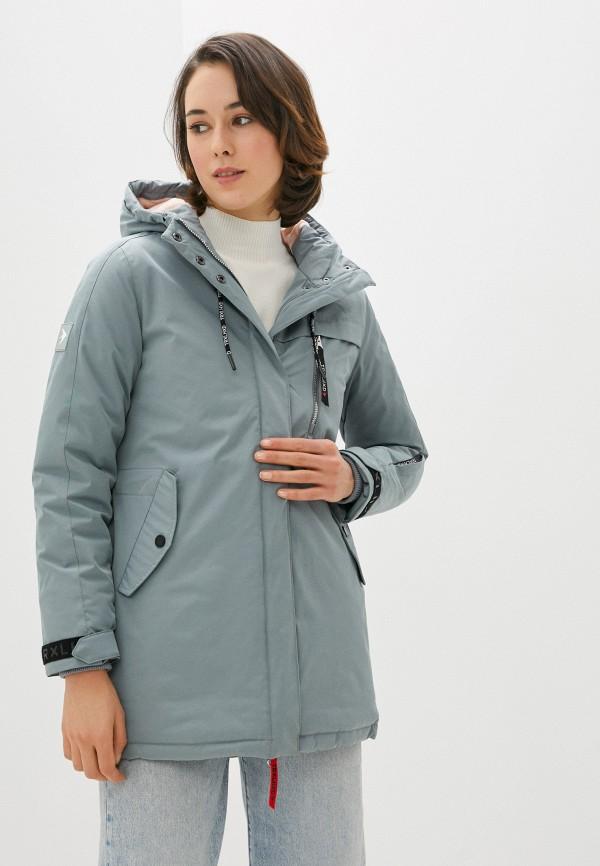 женская куртка trailhead, серая