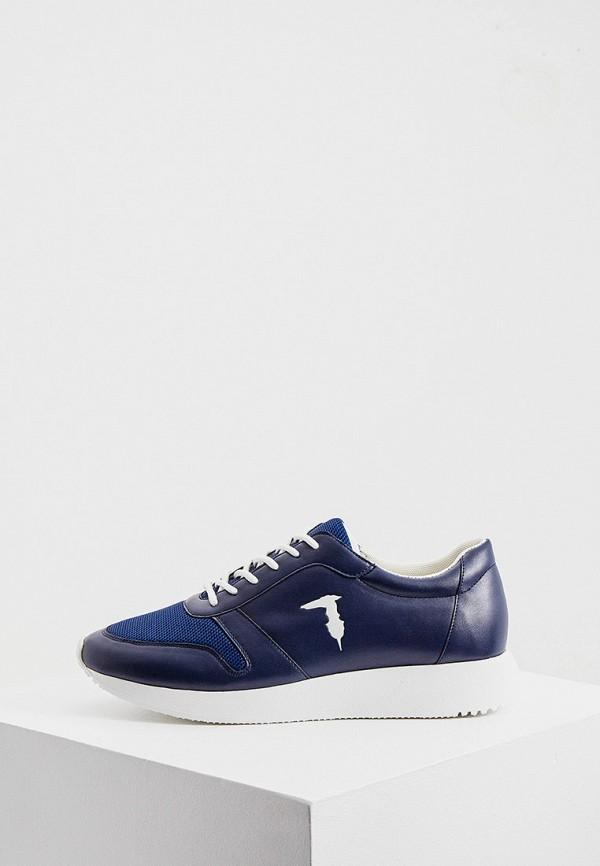 мужские кроссовки tru trussardi, синие
