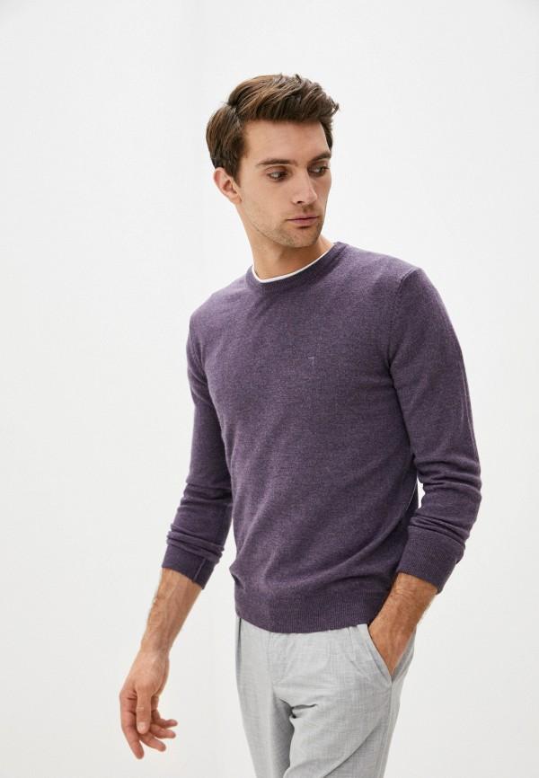 мужской джемпер tru trussardi, фиолетовый