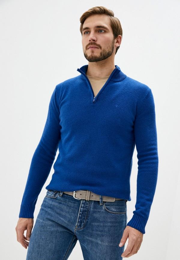 мужской джемпер tru trussardi, синий