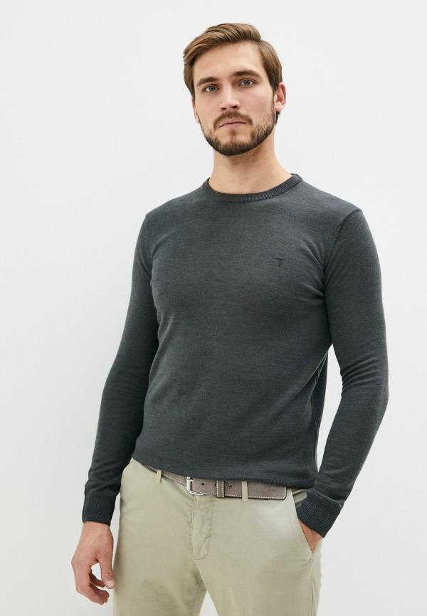 мужской джемпер tru trussardi, серый