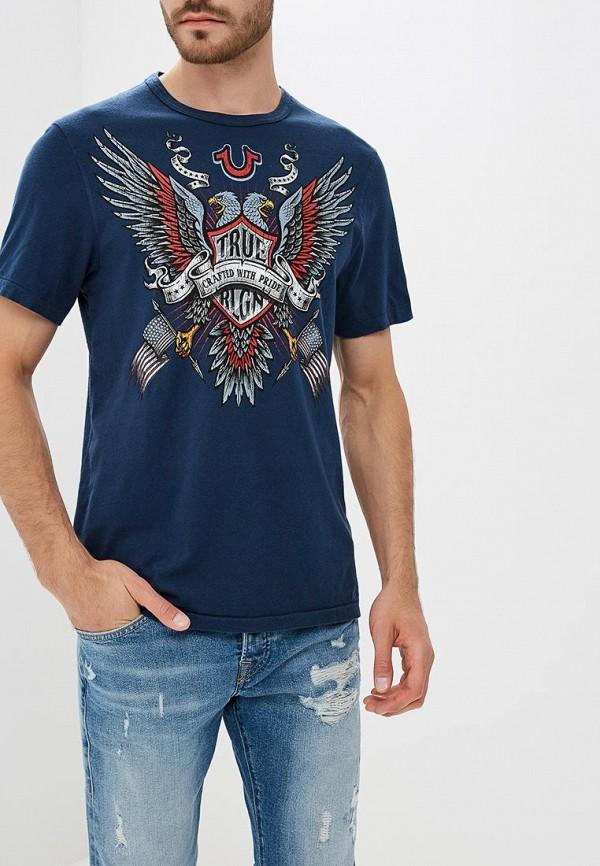 Футболка True Religion True Religion TR799EMCDFK4 футболка religion mb wsg01 white black