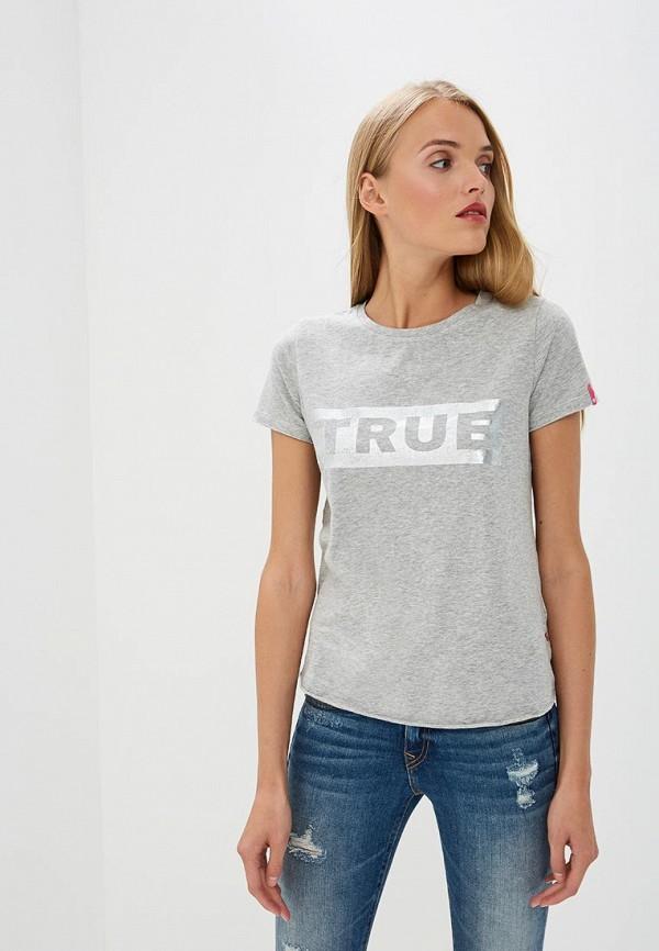 Футболка True Religion True Religion TR799EWBSMQ8 футболка religion 27 bang05 black