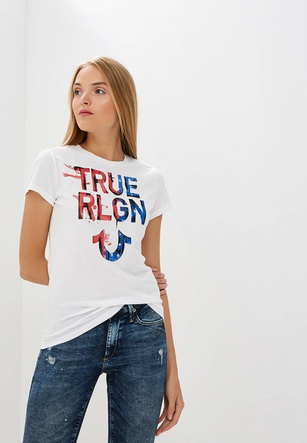 Футболка True Religion True Religion TR799EWCDFL6 religion race rights
