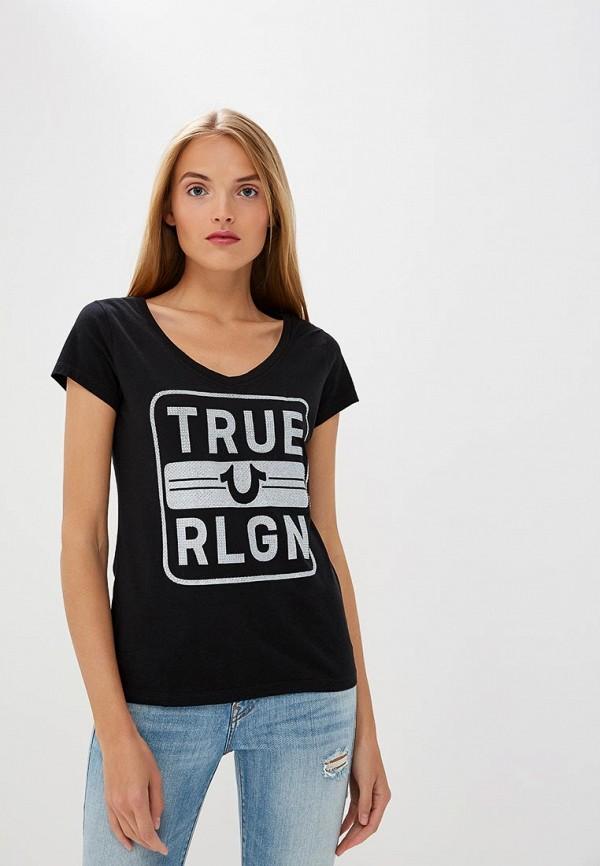 Футболка True Religion True Religion TR799EWCDFL8 футболка religion mb wsg01 white black