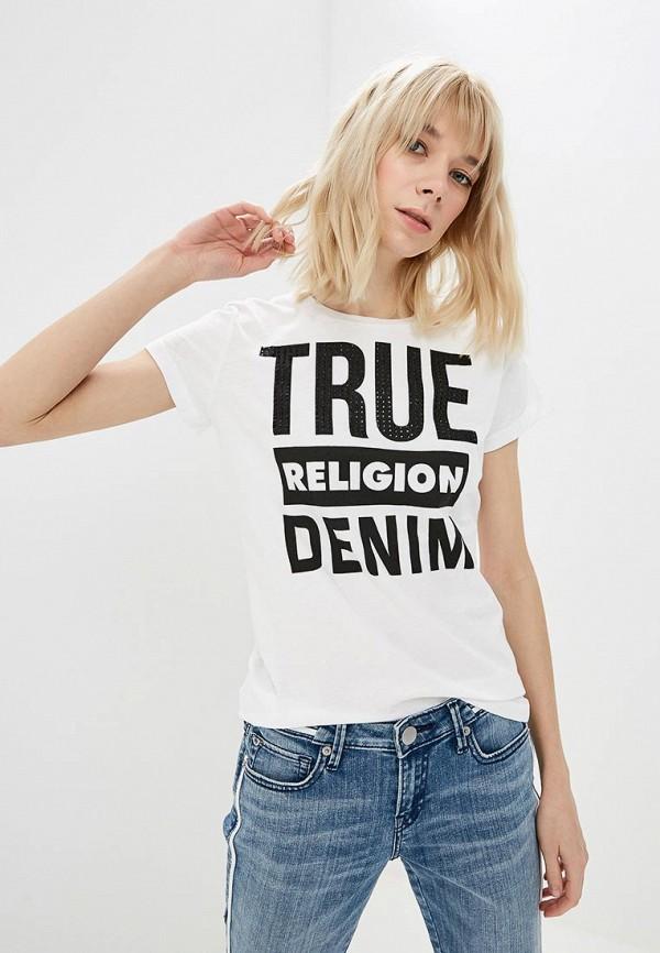 Футболка True Religion True Religion TR799EWCZRS1 футболка religion mb wsg01 white black