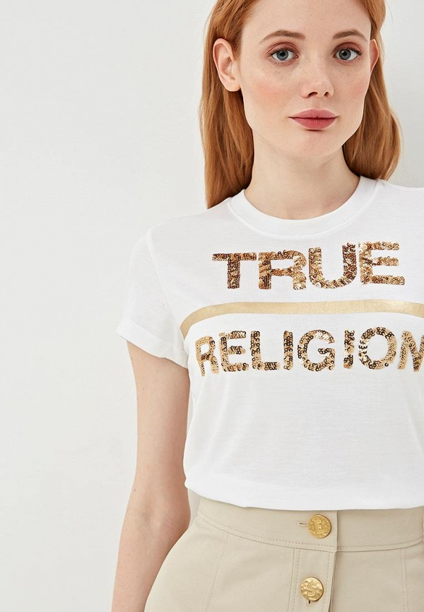 Футболка True Religion True Religion TR799EWEFPV4 футболка true religion true religion tr799ewbsmr8