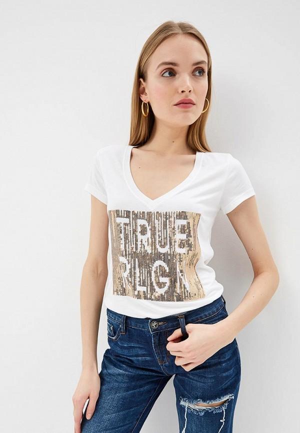 Футболка True Religion True Religion TR799EWEFPV8 футболка true religion true religion tr799ewbsmr8