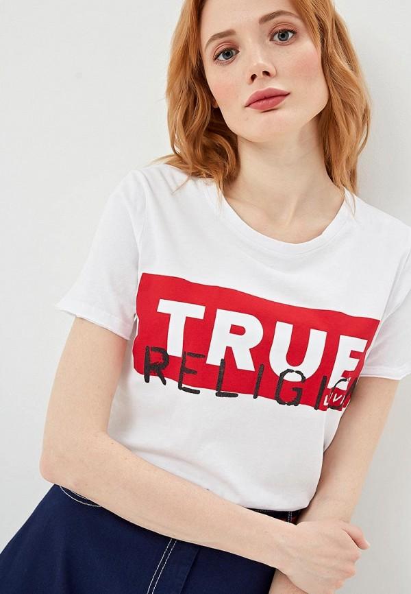 Футболка True Religion True Religion TR799EWEUVW8 футболка true religion true religion tr799ewbsmr8