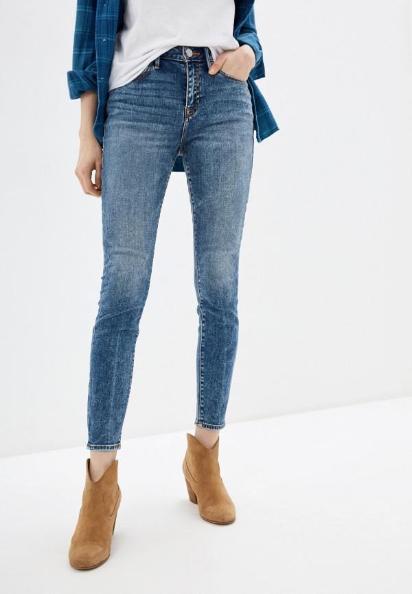 женские джинсы true religion, голубые