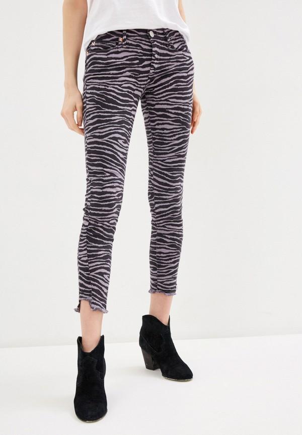 женские повседневные брюки true religion, серые