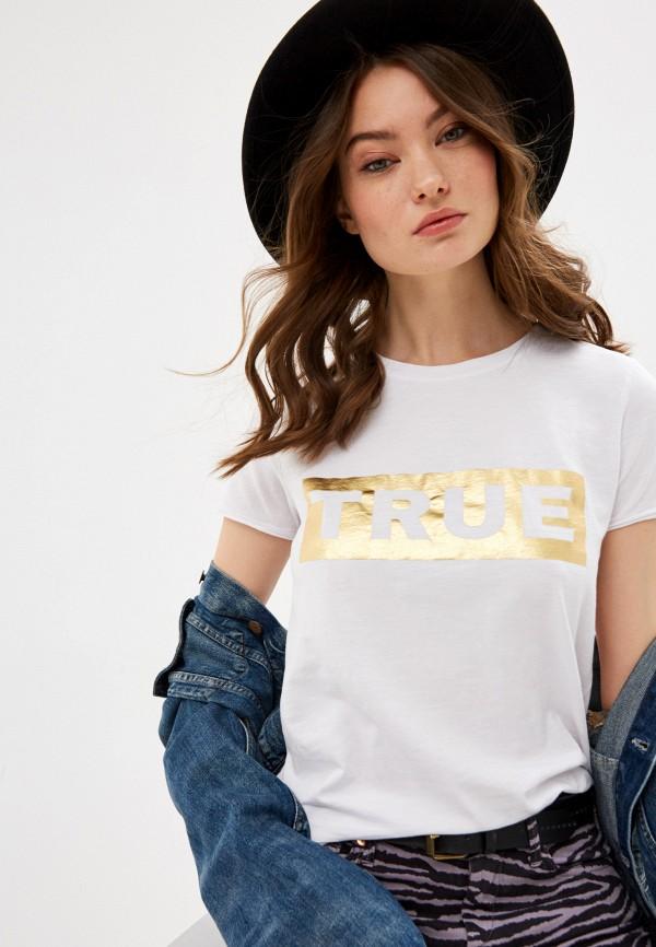 женская футболка true religion, белая