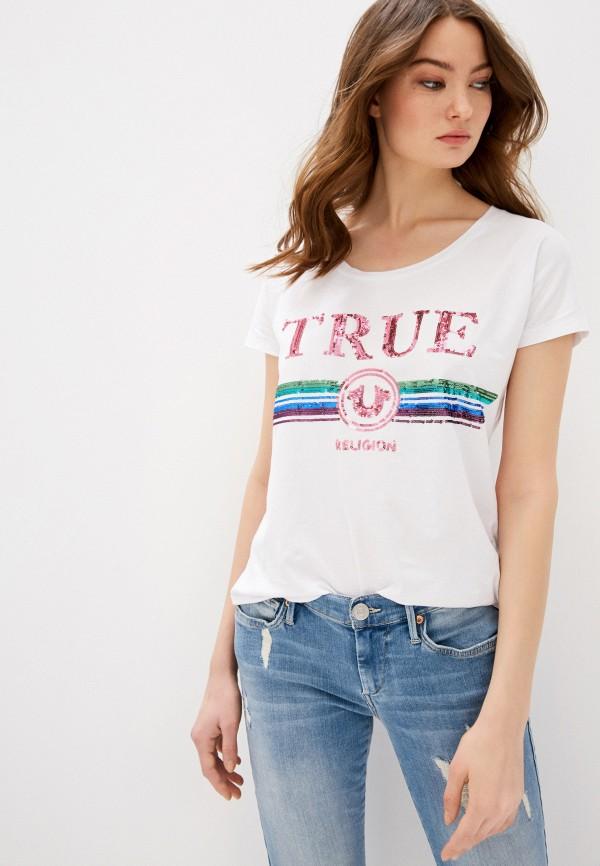 Футболка True Religion True Religion TR799EWGRFF3 футболка true religion true religion tr799emeewk5
