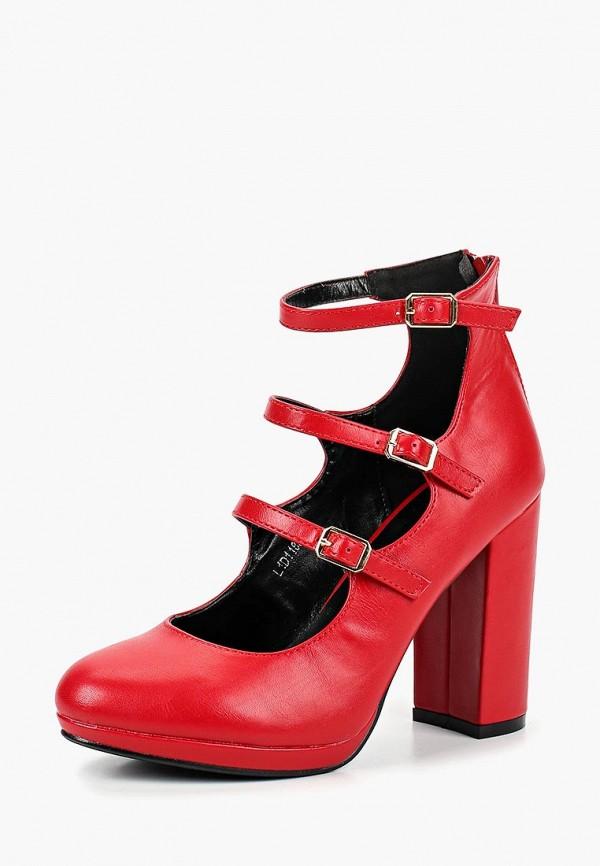 Туфли Tulipano Tulipano TU005AWCRBZ1 norka туфли norka 45 10el красный