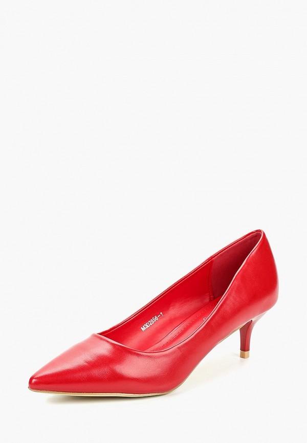 Туфли Tulipano Tulipano TU005AWCRCA1 norka туфли norka 45 10el красный