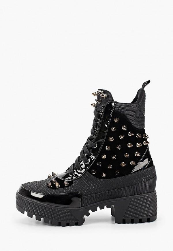 женские ботинки tulipano, черные