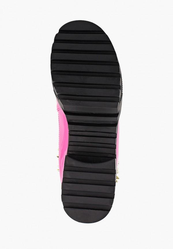 Фото 10 - женские ботинки и полуботинки Tulipano коричневого цвета