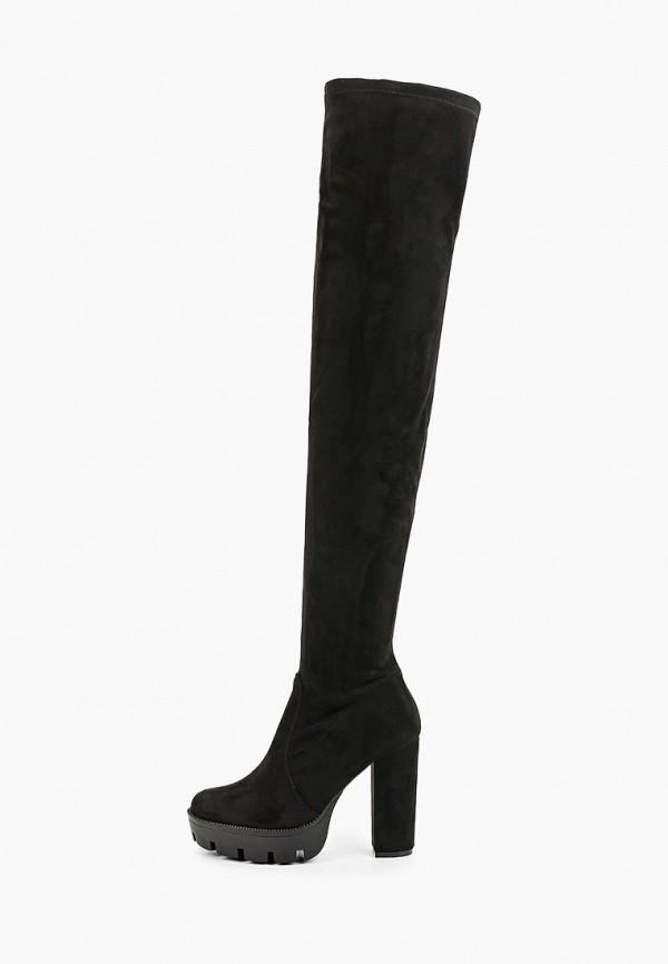 женские ботфорты tulipano, черные