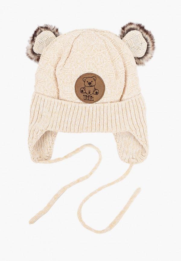 шапка tutu для мальчика, бежевая