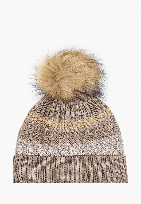 шапка tutu для мальчика, коричневая