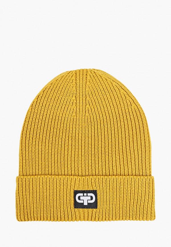 шапка tutu для мальчика, желтая