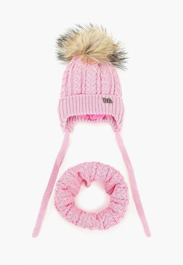 шарф tutu для девочки, розовый