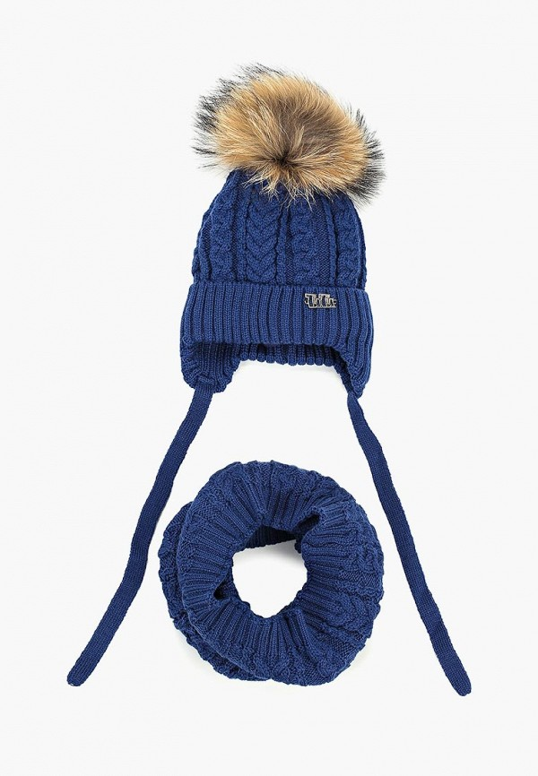 шарф tutu для девочки, синий