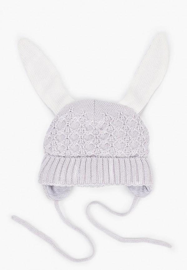 шапка tutu для девочки, серая