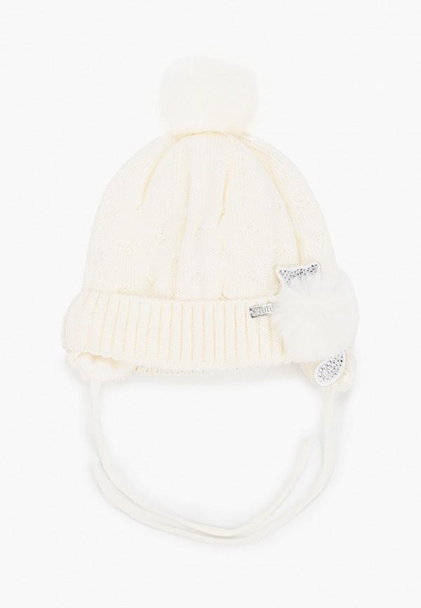 шапка tutu для девочки, белая