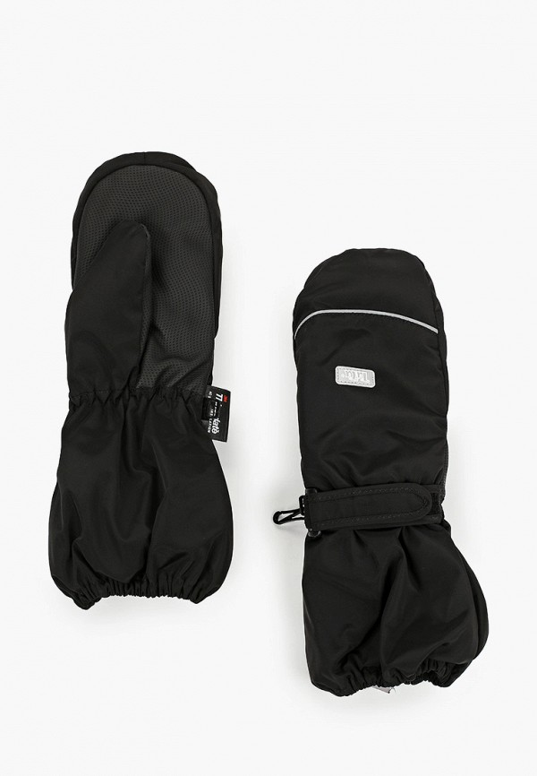 варежки tutu для мальчика, черные
