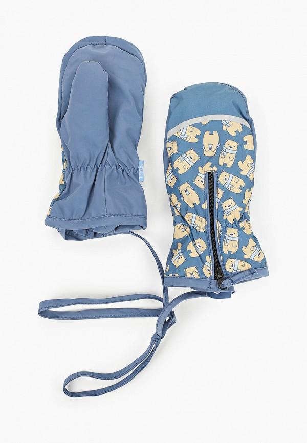 варежки tutu для мальчика, синие