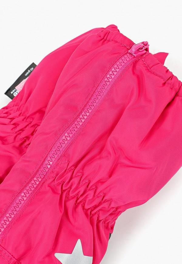 Фото 2 - Варежки TuTu розового цвета
