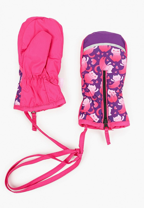 варежки tutu для девочки, фиолетовые