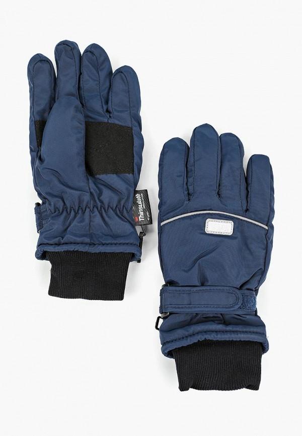 Фото - Перчатки TuTu синего цвета