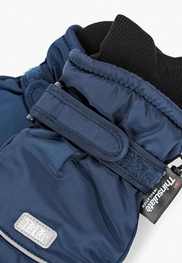 Фото 2 - Перчатки TuTu синего цвета