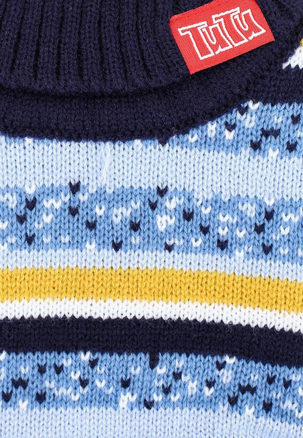 Фото 3 - Воротник TuTu синего цвета