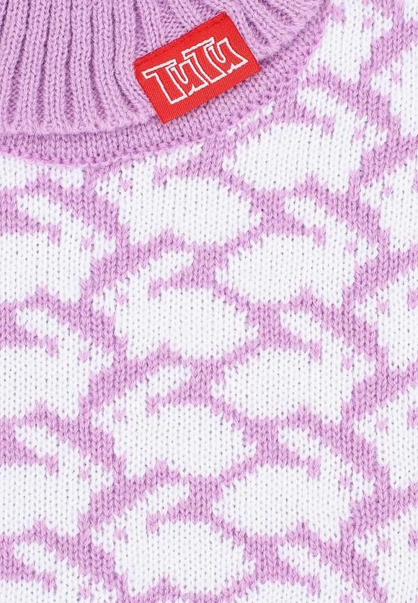 Фото 3 - Воротник TuTu фиолетового цвета