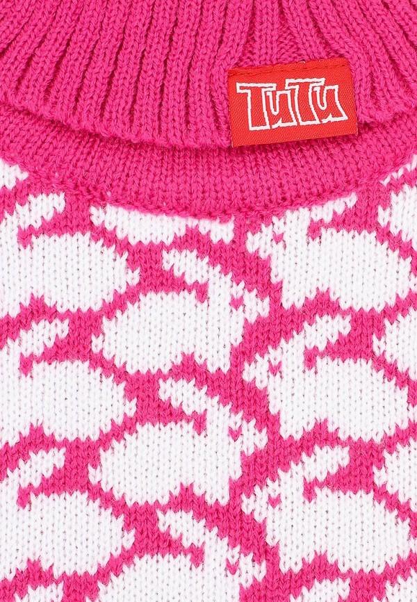 Фото 3 - Воротник TuTu розового цвета