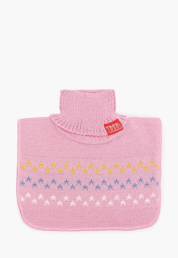 манишки tutu для девочки, розовые