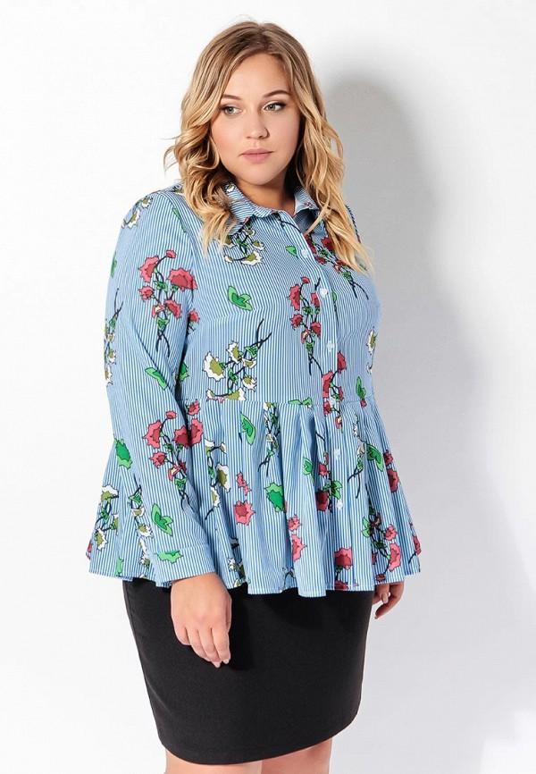 Блуза Tutto Bene Plus Tutto Bene Plus TU007EWAMIA5 цена