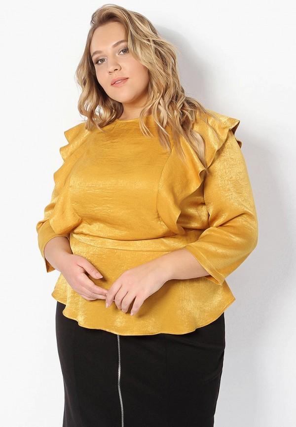 Блуза Tutto Bene Plus Tutto Bene Plus TU007EWAMIG6 цена