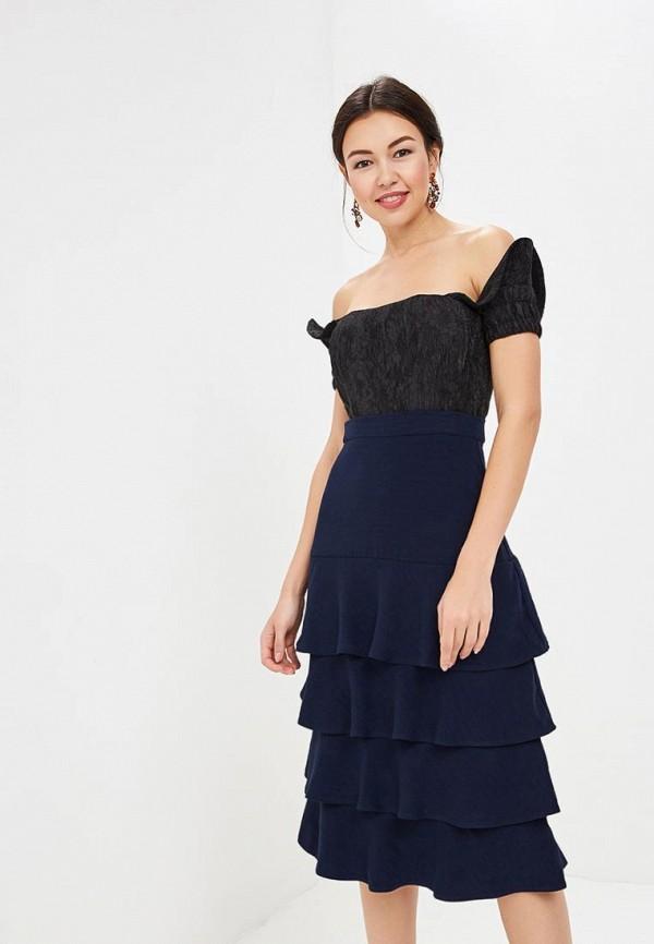 женское платье tutto bene, синее