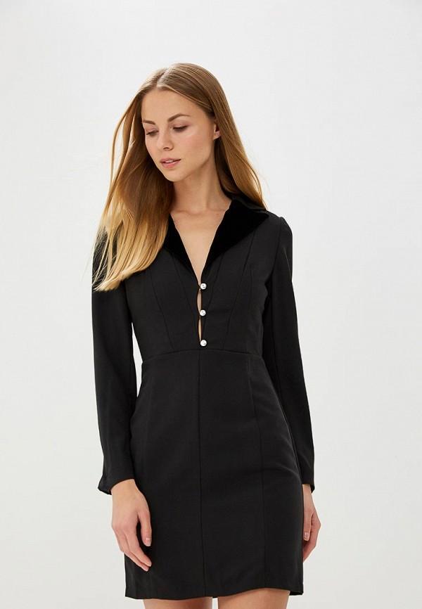 Купить Платье Tutto Bene, TU009EWATTZ8, черный, Весна-лето 2018
