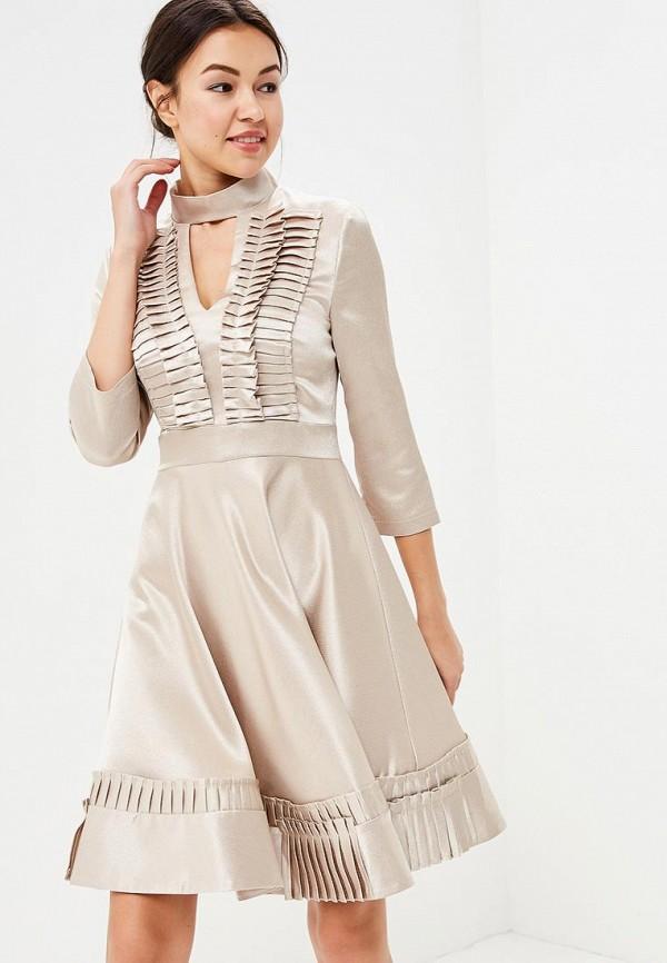 Купить Платье Tutto Bene, TU009EWATUA1, бежевый, Весна-лето 2018