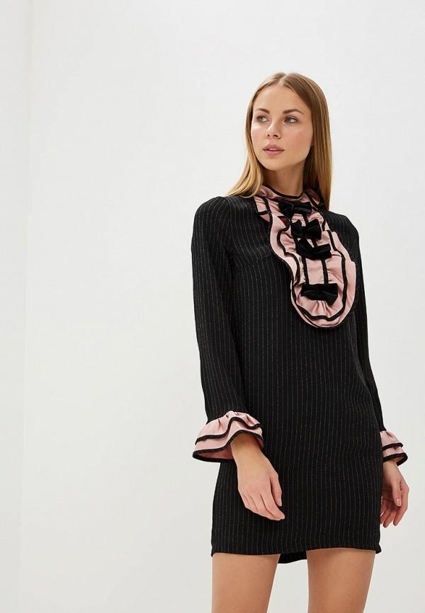 Купить Платье Tutto Bene, TU009EWATUB4, черный, Весна-лето 2018